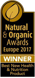 Natural & Organic Awards Europe 2017, Winner - Best New Health & Nutrition Product