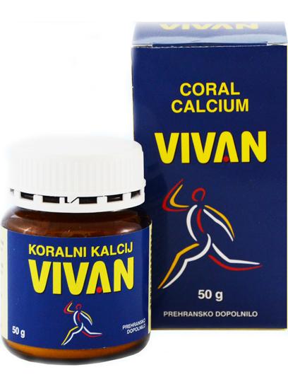 Koraljni kalcij VIVAN 50 g