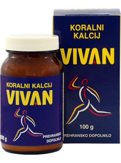 Koralni kalcij VIVAN 100 g